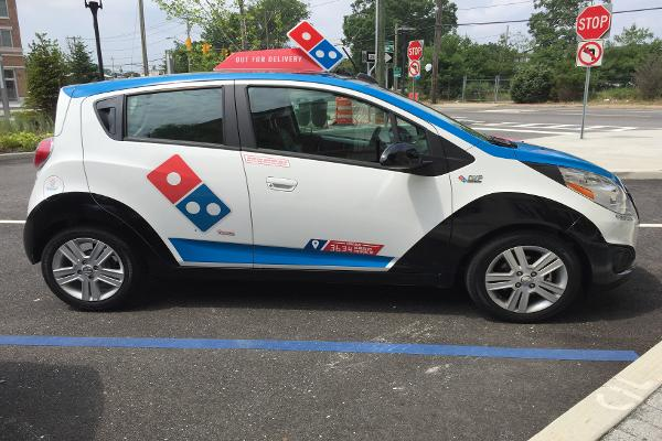 Test Drive Exclusive: Domino's Pizza Has New Futuristic Delivery Car