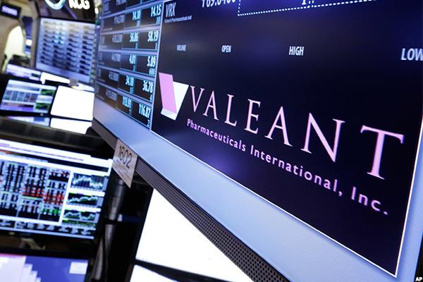 Valeant Enlists Former Tyco Exec for More Help With Accounting