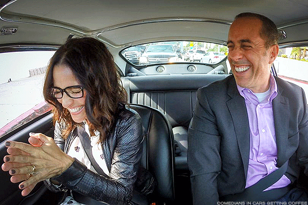 Netflix Is Master of Its Domain, Nabs Seinfeld's 'Comedians in Cars' Series