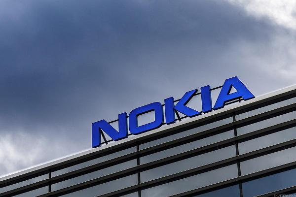 Shares of Nokia Return to Earth