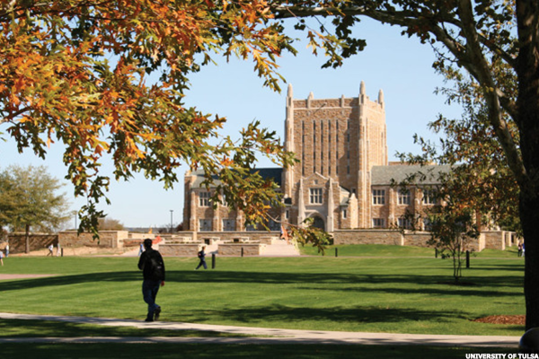 Oklahoma: University of Tulsa