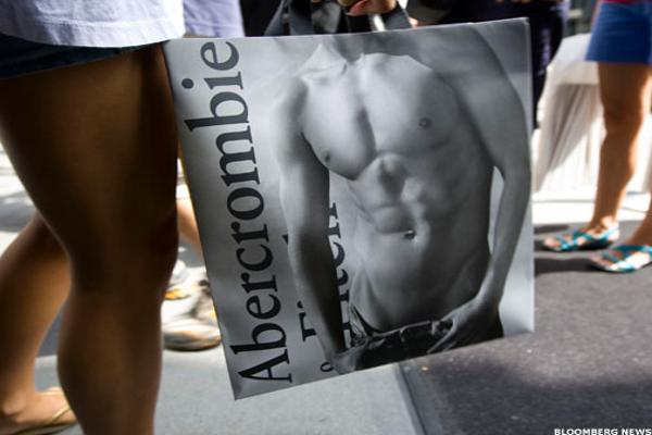 Abercrombie & Fitch Shot Down by Foreigners, Stock Up In Flames