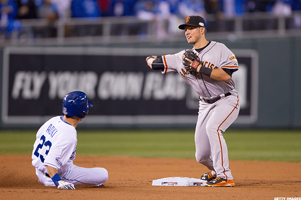 12. San Francisco Giants at Kansas City Royals