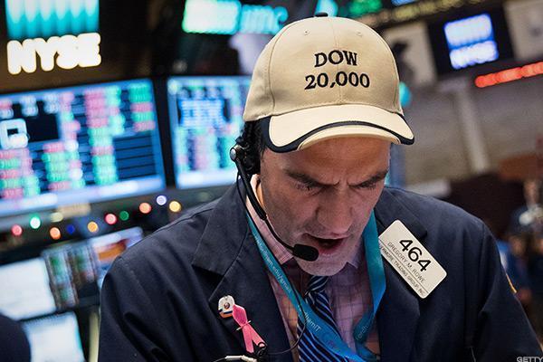 Dow's Ascent to 20,000 Milestone Hits Snag