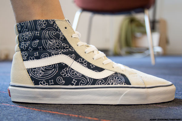 Why Vans Sales Are Still Off The Wall For Vf Corp Thestreet