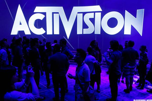 Activision Blizzard Is Forming a Top at Old Highs