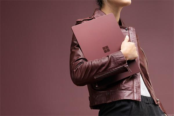 4. Microsoft releases its first laptop