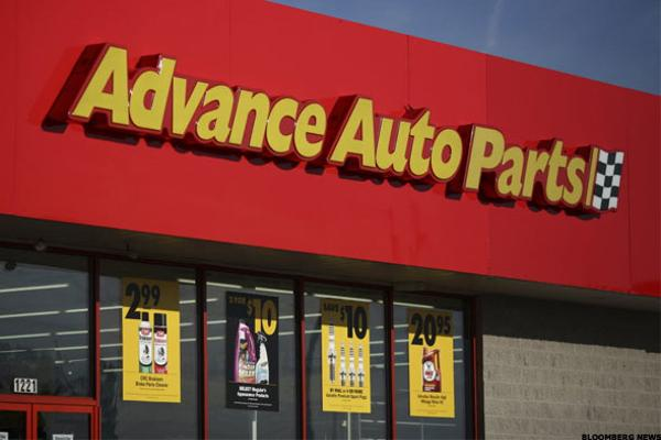 Advance Auto Parts Advances on Heavy Trade