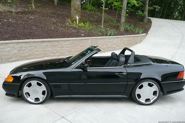 4. 1990-93 Mercedes-Benz 300SL