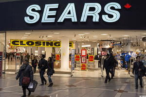 Sears (SHLD) Stock Struggling as Other Retailers Recover