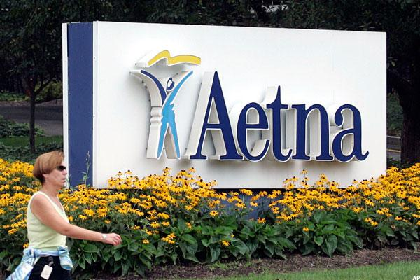 Aetna Shares Rise as CEO Bertolini Talks Humana Merger, Obamacare