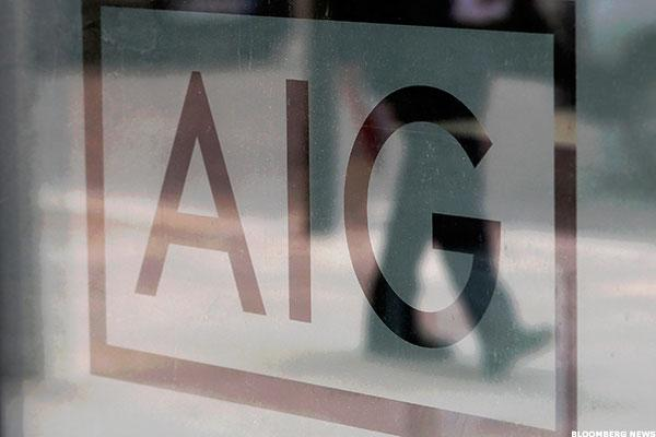 AIG Chief's Streamlining Plan Delivers Quarterly Earnings Beat