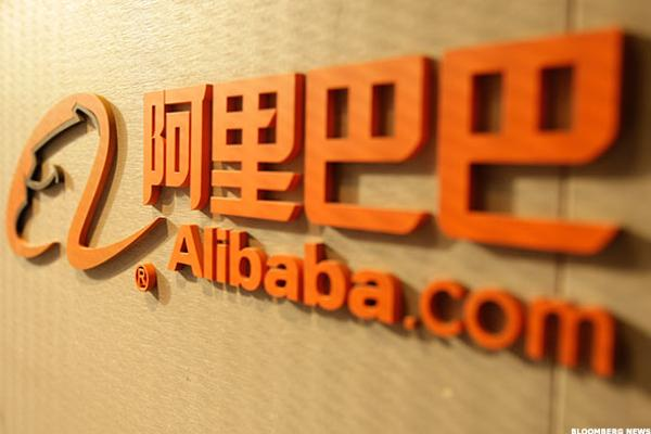 Alibaba Baba Stock Spikes On Groupon Stake Thestreet