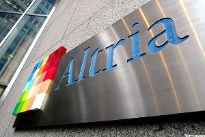 Altria (MO) Stock Up, Discloses 9.6% Stake in AB InBev