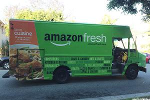 Amazon.com (AMZN) Planning to Unveil New Grocery Delivery Service, CNBC Reports