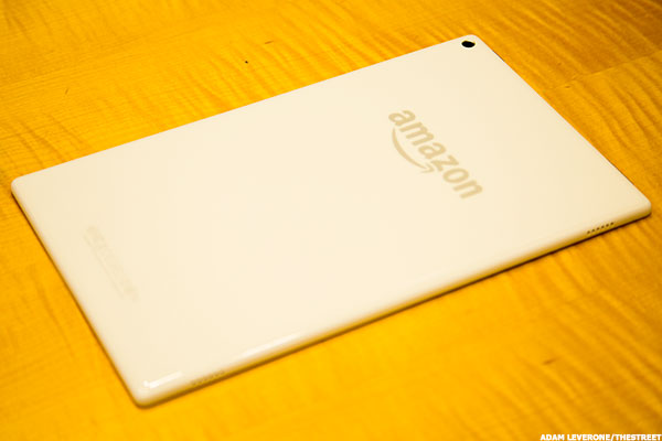 Amazon (AMZN) Fire HD 10 Review -- Pleny to Like, But Is It Enough