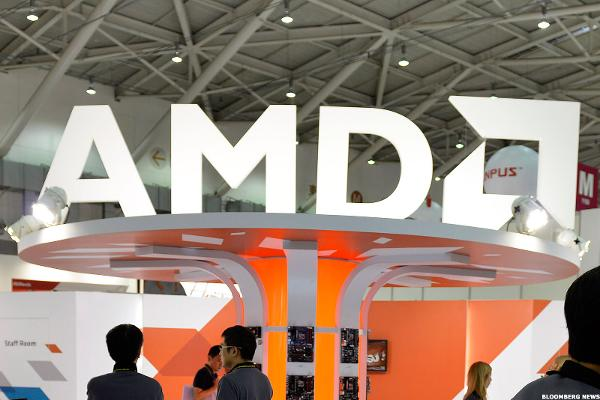 Here's a Reason Why AMD Stock Is Higher Today