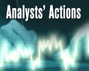 Analysts' Actions -- eBay, DollarTree, Blackrock, CBS, Tiffany