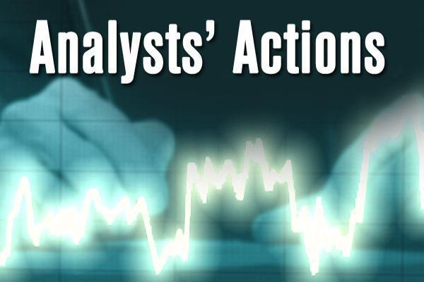 Analysts' Actions -- HD Supply, JD.com, Sarepta, Wells Fargo and More