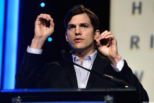 Actor Ashton Kutcher Weighs in on Twitter (TWTR), Talks Tech Investments