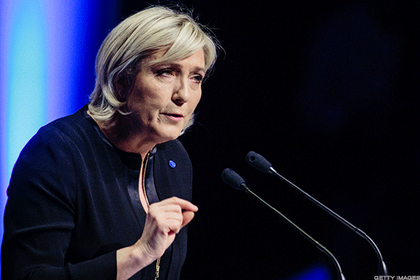 As France's Le Pen Leads Polls, Traders Prepare for 'Frexit' Rout