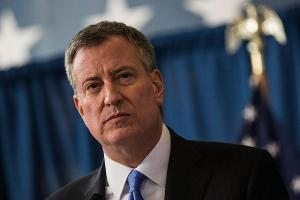 New York Mayor de Blasio Rips Amazon's 'Abuse' of Power