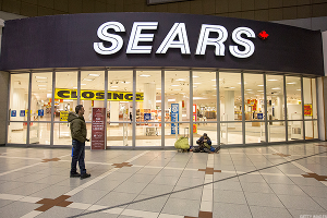 By the Numbers: Sears Is Vanishing From America's Suburbs