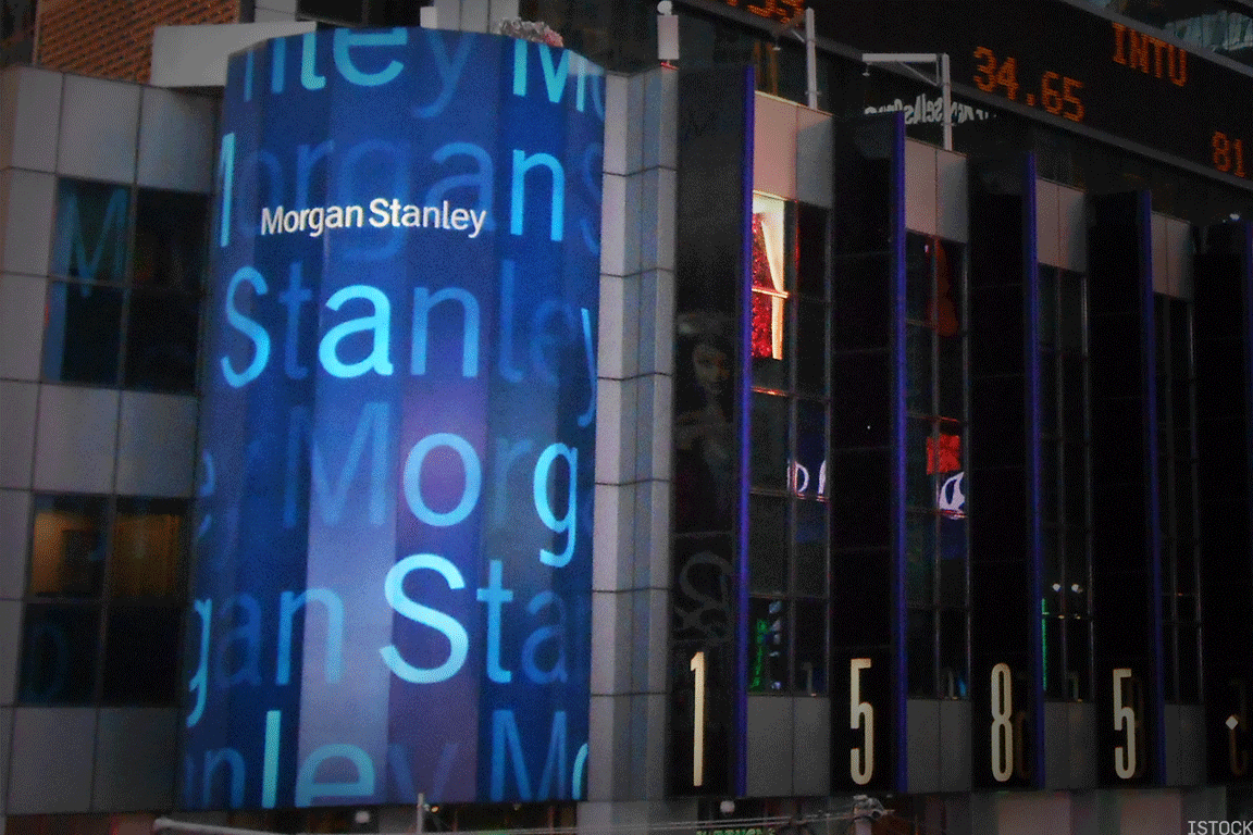 Morgan Stanley Rises After Analyst Decries Low Valuation