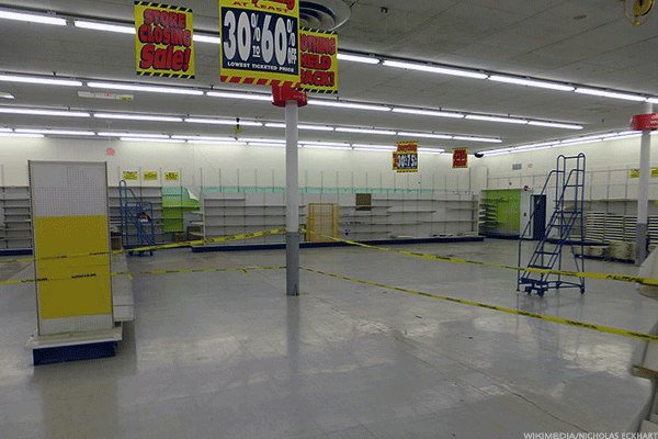A closed Kmart.