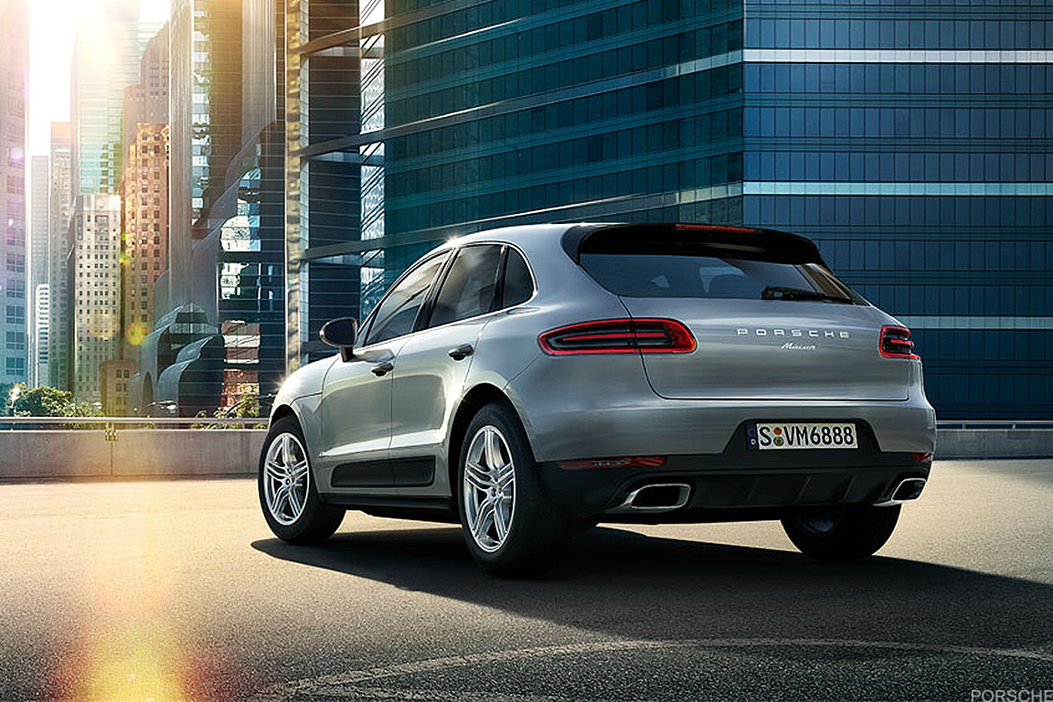 The Porsche Macan is the automaker's smaller SUV/Crossover offering