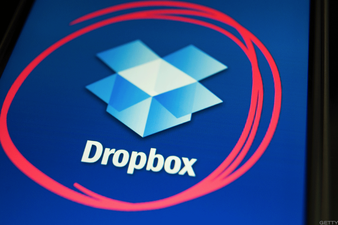 Dropbox market cap at ipo