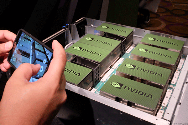 Nvidia Surges on Earnings Beat -- Jim Cramer Weighs In
