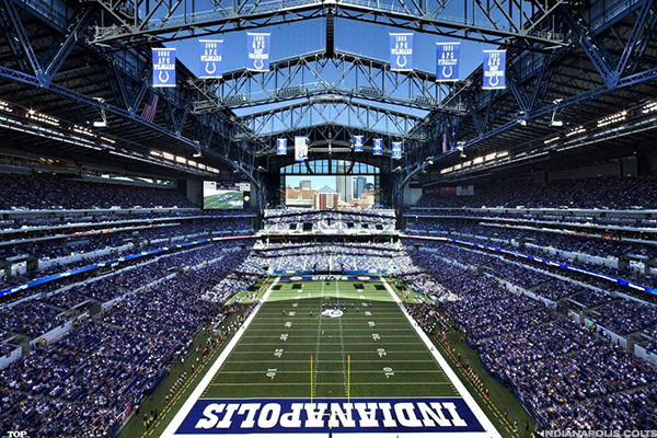 6. Lucas Oil Stadium