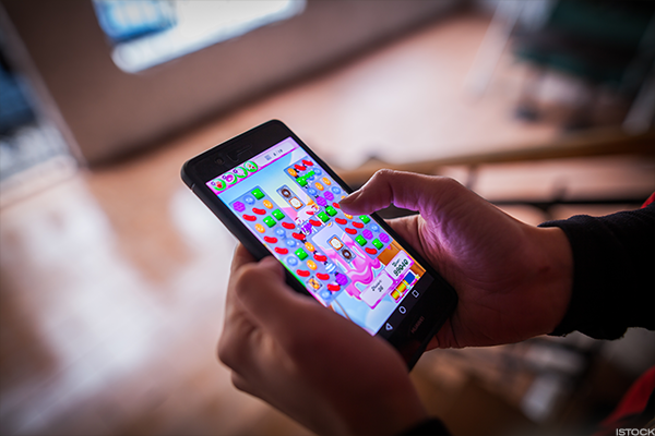 Zynga's Candy Crush mobile game has been a breakout hit.