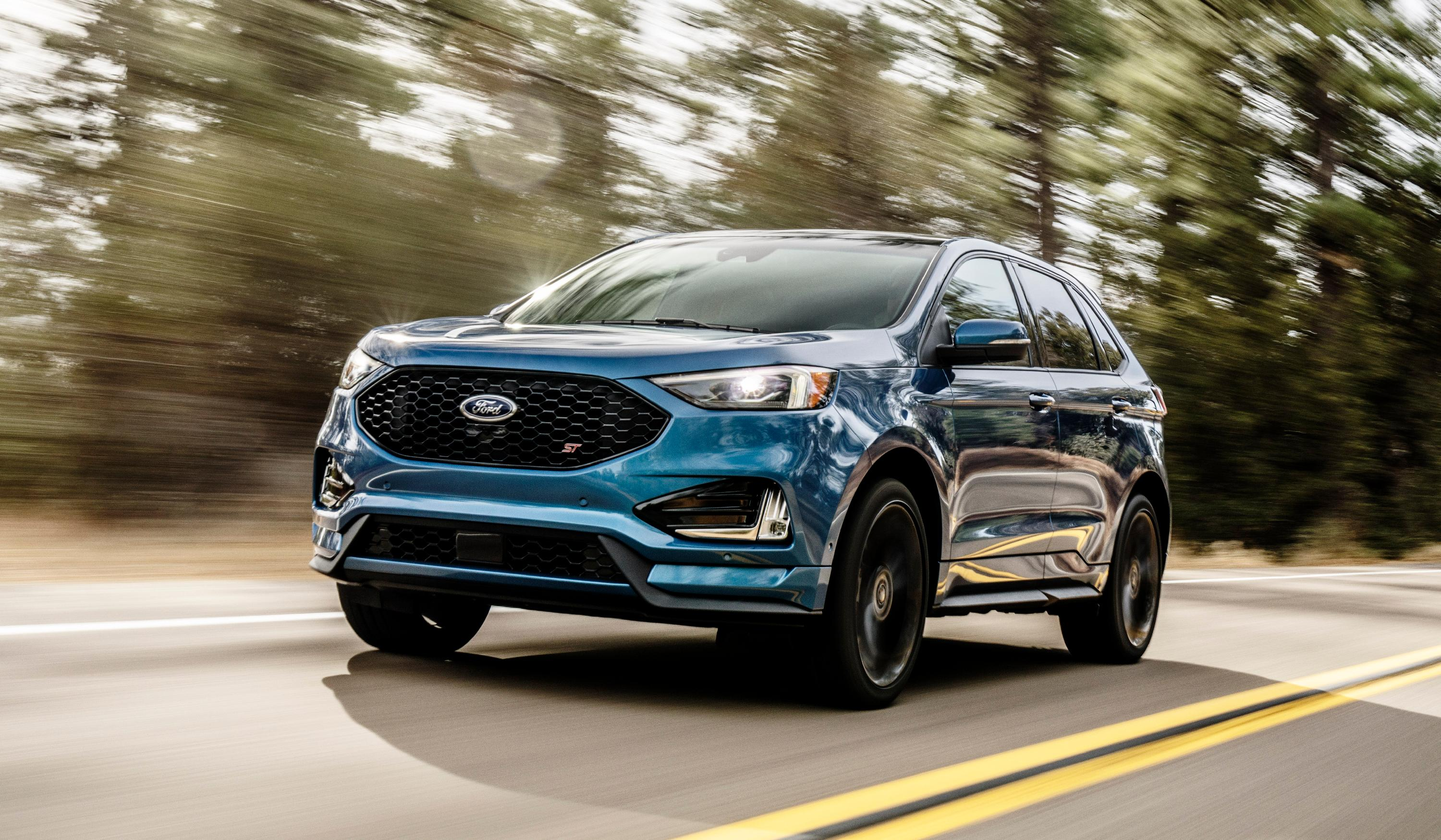 2019 Ford Edge ST. Source: Ford