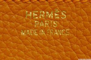 Hermes International Rises as Luxury Sector Momentum Continues to Improve