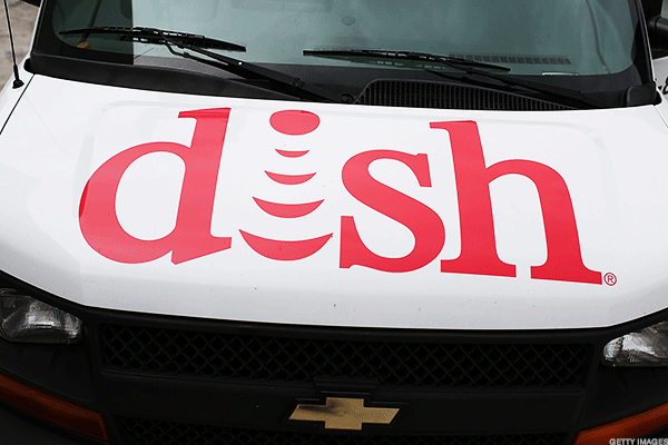 Dish Shares Fall On Spectrum Auction Bid