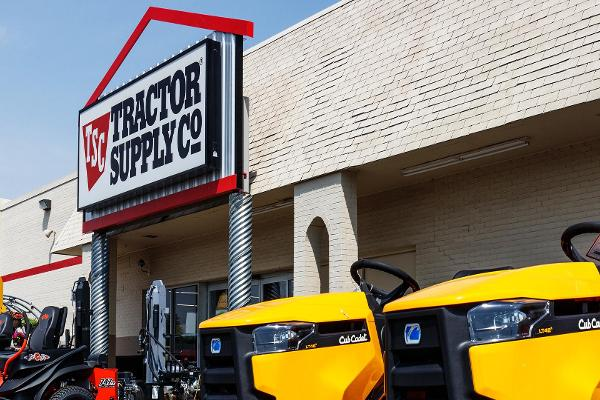 Tractor Supply Shares Should Keep Plowing Ahead