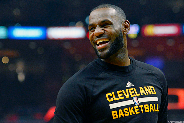 LeBron James Knows About Nike's Stock Crash but Seems Pretty Chill About the Entire Thing
