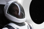 Elon Musk Reveals This First-Ever Photo of SpaceX Spacesuit