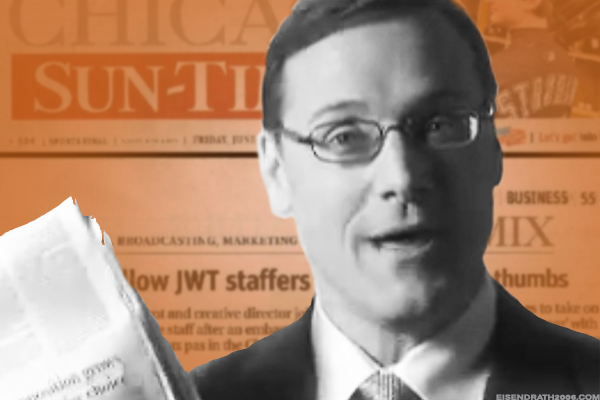 Sun-Times suitor and former Chicago alderman Edwin Eisendrath