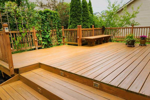 Second-Worst Home Improvement: Midrange Backyard Patio, ROI: 55.2%
