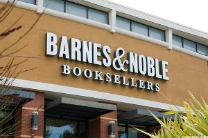 Barnes & Noble (BKS) Stock Rising on Exclusive Print Partnership