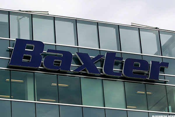 Baxter is ramping up production at some European plants to offset lost production in Puerto Rico.