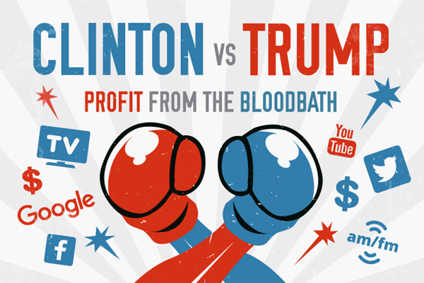 Profit From the Bloodbath: How $12 Billion Is Being Spent to Tell You How to Vote in 2016