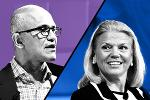 Microsoft Soars to New Heights as IBM Goes Sideways: A Tale of Two CEOs