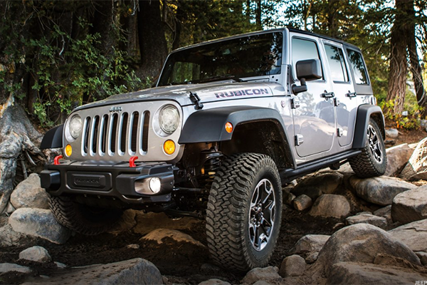 Get fit (best car for an active lifestyle): Jeep Wrangler Rubicon Hard Rock
