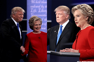 Will Trump and Clinton Shake Hands? Markets and Investors Place Bets at D.C. Debate Party