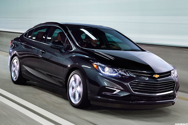 New Chevy Cruze Is Best Small Car GM Has Built in a Long ...
