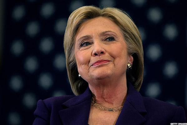 Hillary Clinton Stock Portfolio Holds Steady Amid Bumpy Week for Trump